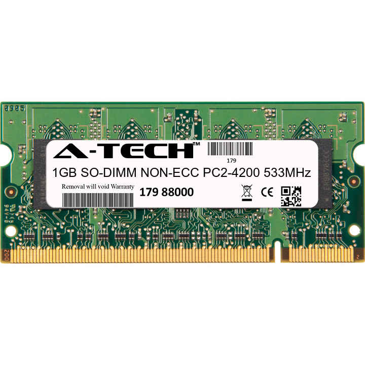 1GB SODIMM IBM-Lenovo Thinkpad T36 T43 1876-xxx T37 T43 2668-xxx Ram Memory