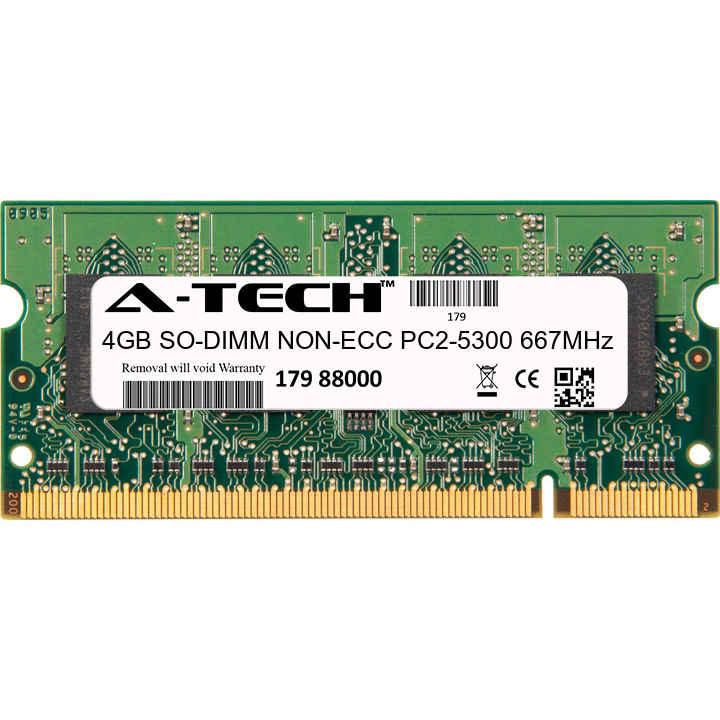 4GB SODIMM HP Compaq Presario CQ50Z-100 CTO CQ60-207AU CQ60-210TU Ram Memory