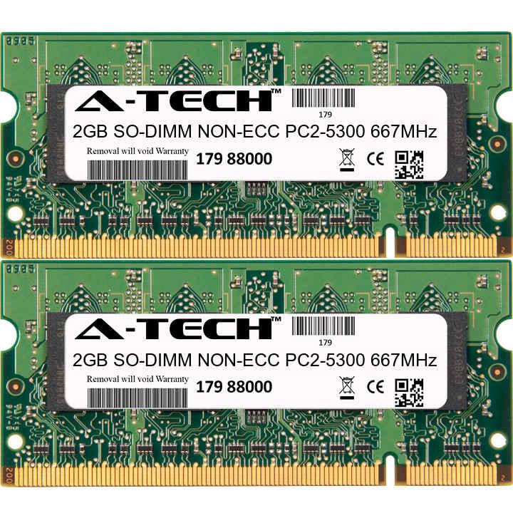 4GB 2x2GB Memory RAM ● for Dell Inspiron 1420 15 1520 1521 1535 ● US Ship