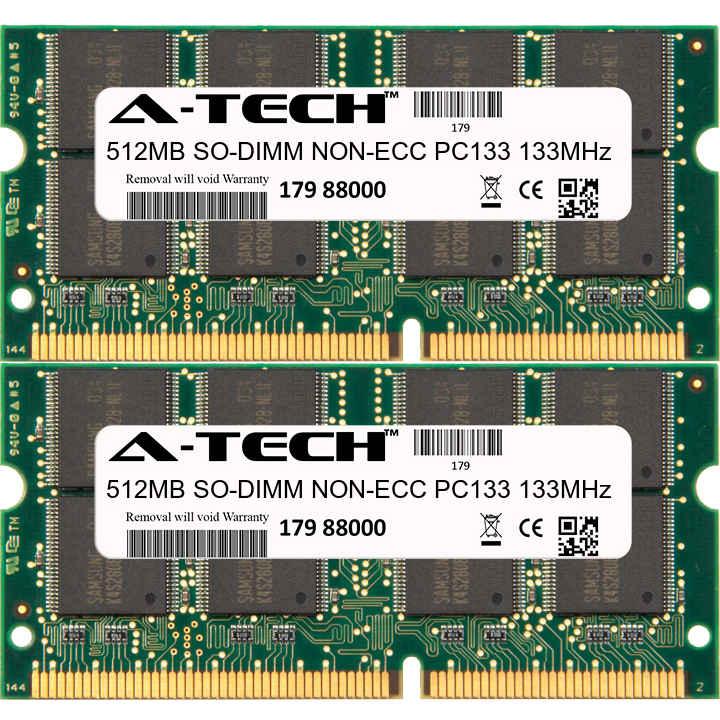 1GB KIT 2 x 512MB Toshiba Satellite 2430-A620 2430-A740 2430-S255 Ram Memory