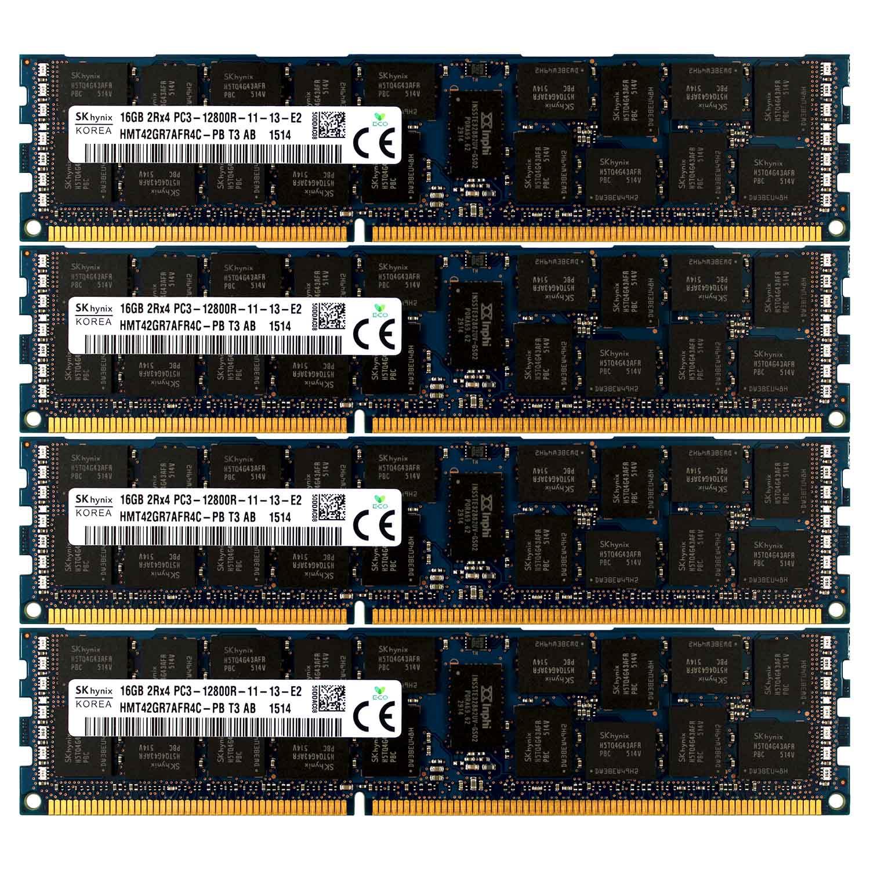 16GB Kit 2x 8GB DELL POWEREDGE R610 R710 R815 R510 C6105 C6145 R720 MEMORY Ram