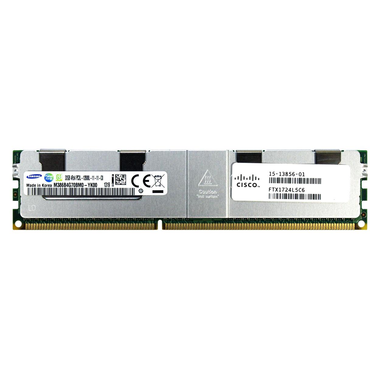 32GB 4Rx4 PC3L-12800L LRDIMM Server Memory Cisco UCS-ML-1X324RY-A 15-13856-01