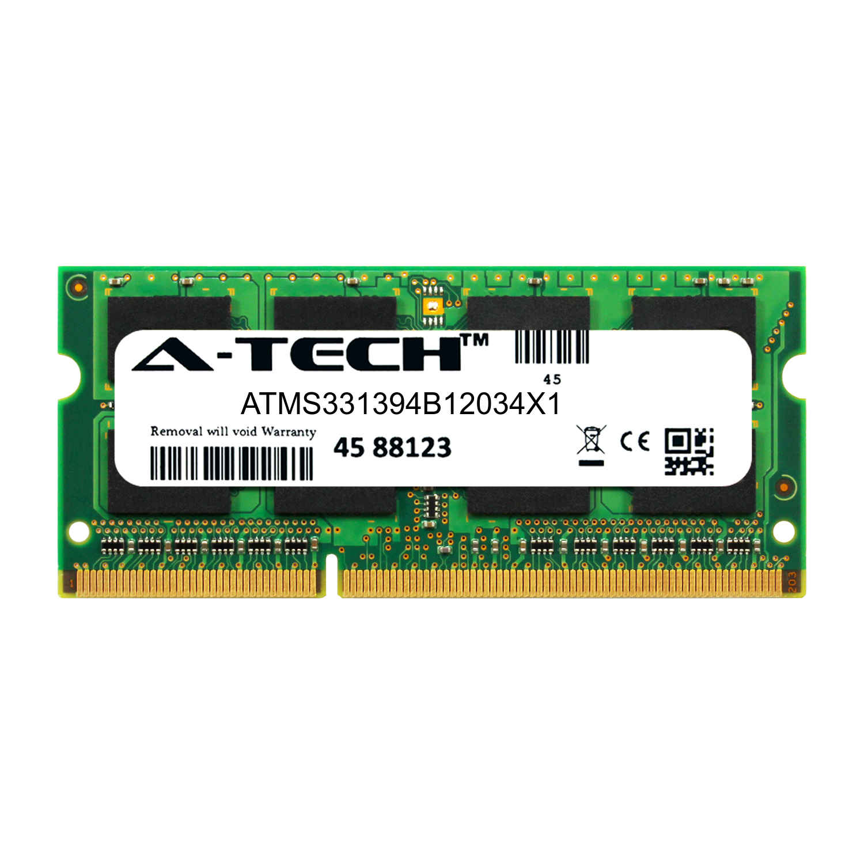 DDR3 1600MHz SODIMM PC3-12800 204-Pin Non-ECC Memory Upgrade Module A-Tech 4GB RAM for Toshiba Satellite C55D-B5310