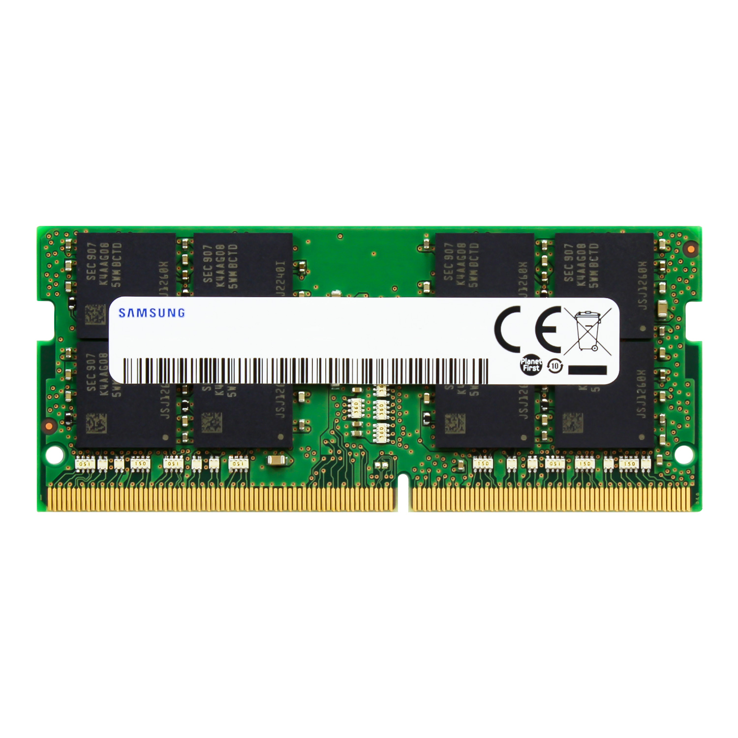 Samsung 32GB DDR4 2666MHz RAM Memory Module for Laptop Computers 260 Pin SODIMM, 1.2V M471A4G43MB1