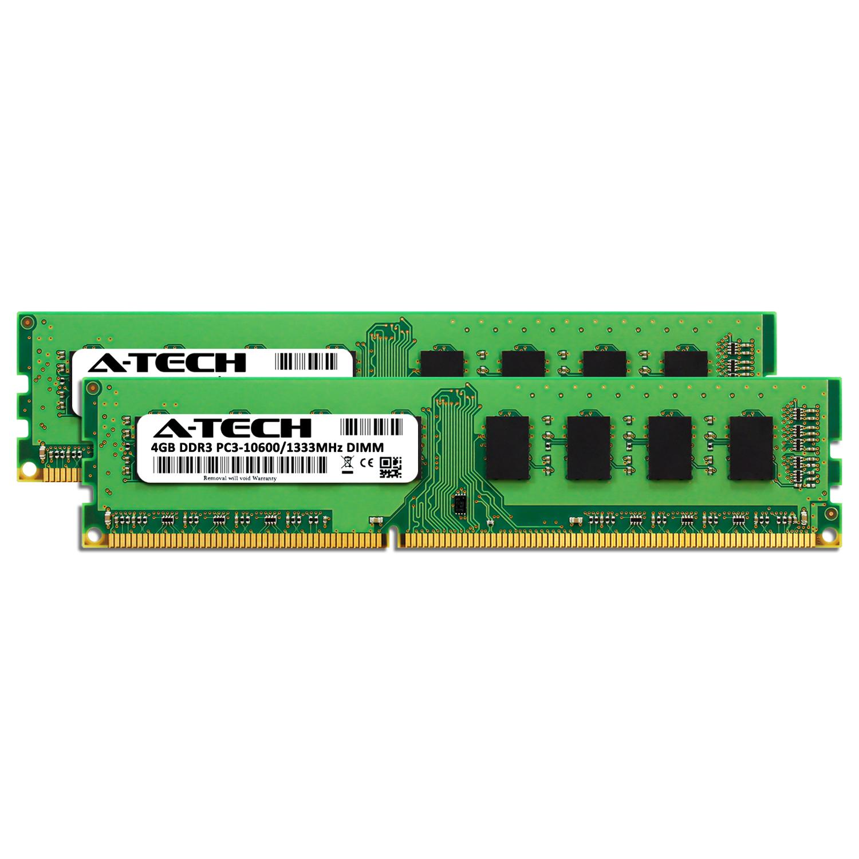 PARTS-QUICK Brand 4GB Memory Upgrade for HP Pavilion p6-2049 DDR3 PC3-10600 1333MHz DIMM Non-ECC Desktop RAM