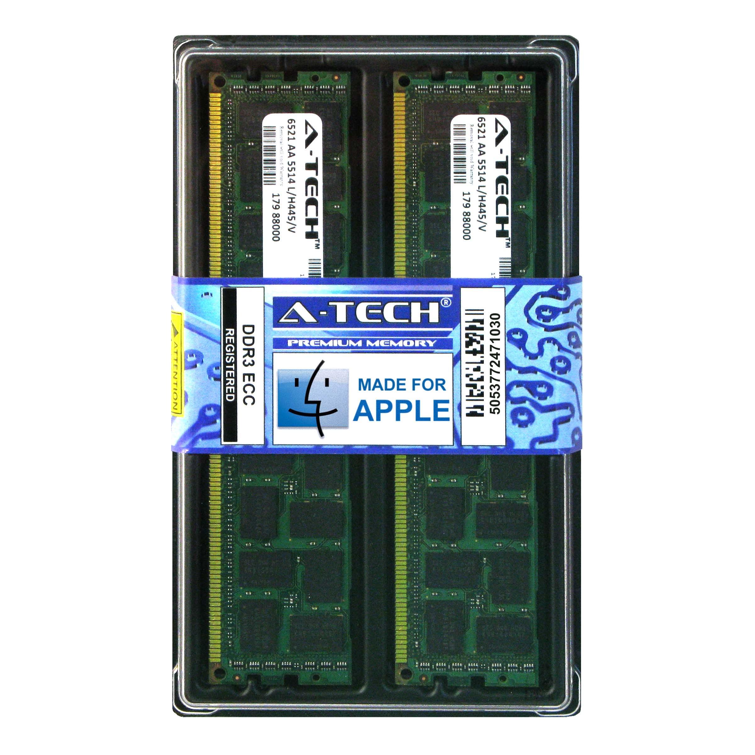 8GB KIT 2X 4GB PC3 1333 MHZ ECC REGISTERED APPLE Mac Pro MEMORY RAM
