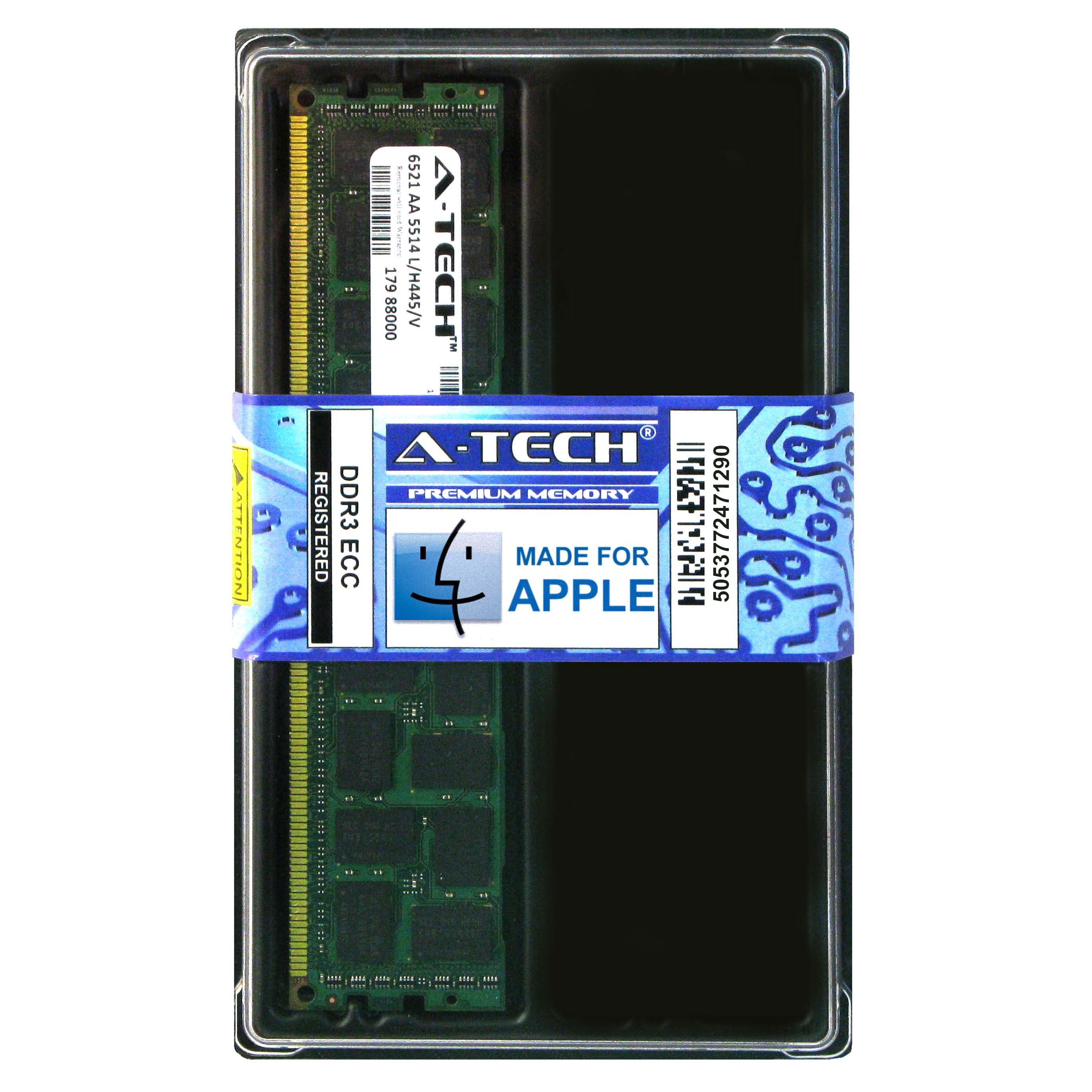 16GB KIT 4X 4GB PC3-14900 1866 MHZ A1481 ECC REGISTERED APPLE Mac Pro MEMORY RAM