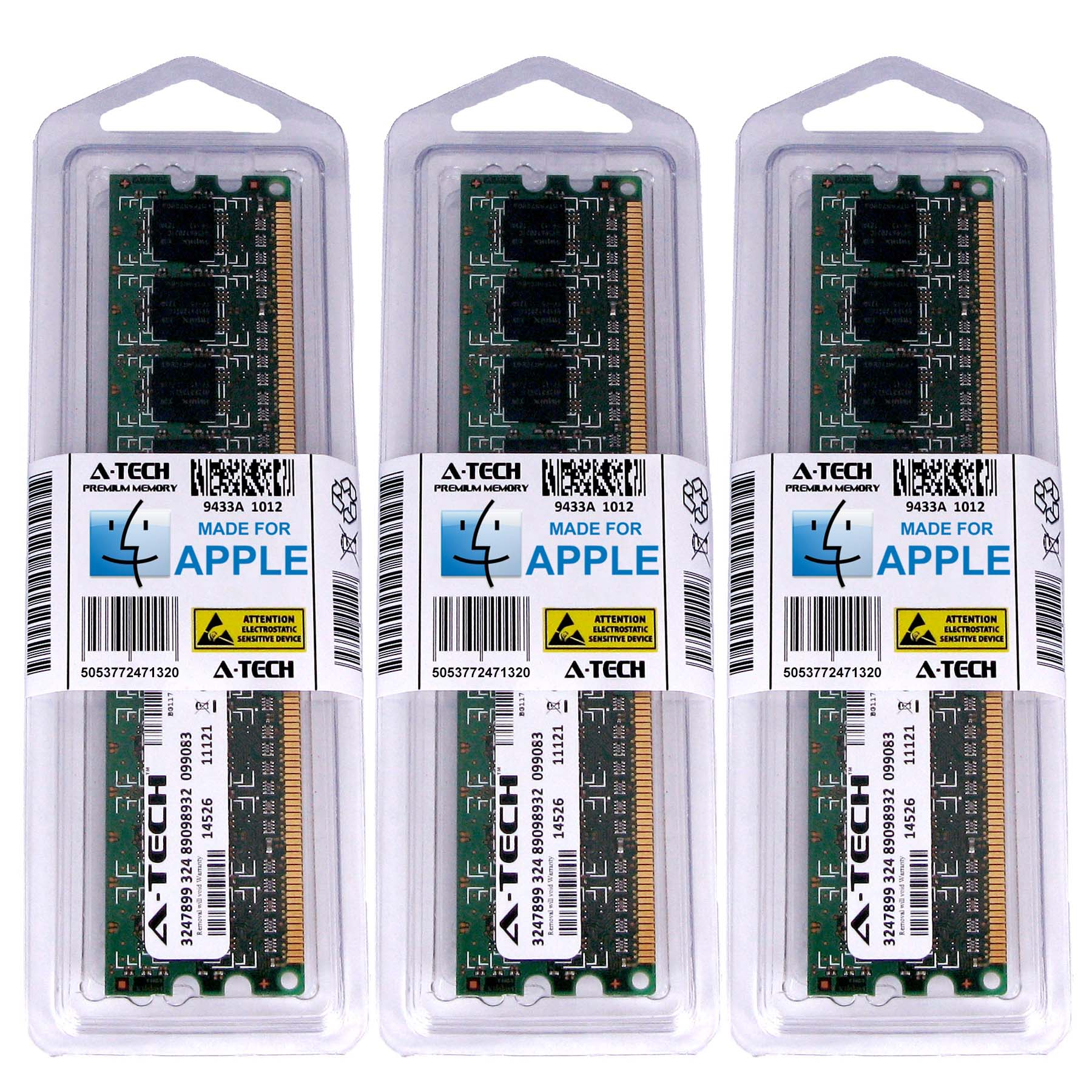 48GB KIT 3X 16GB 1866 MHZ ECC REGISTERED APPLE Mac Pro Twelve Core MEMORY RAM