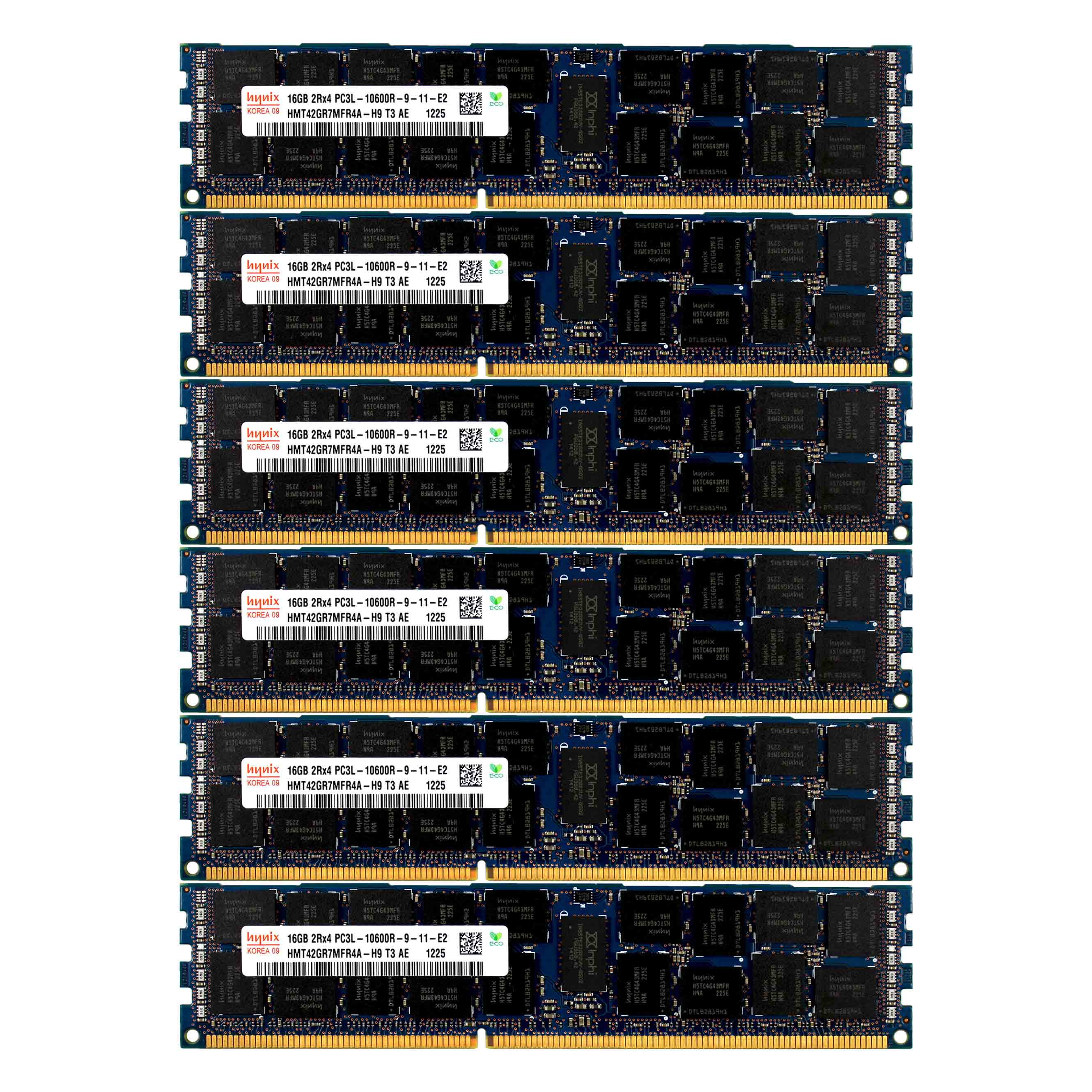 PC3L-10600 2x16GB HP Proliant BL28C BL2X220C DL160 DL170E SL160Z G6 Memory Ram
