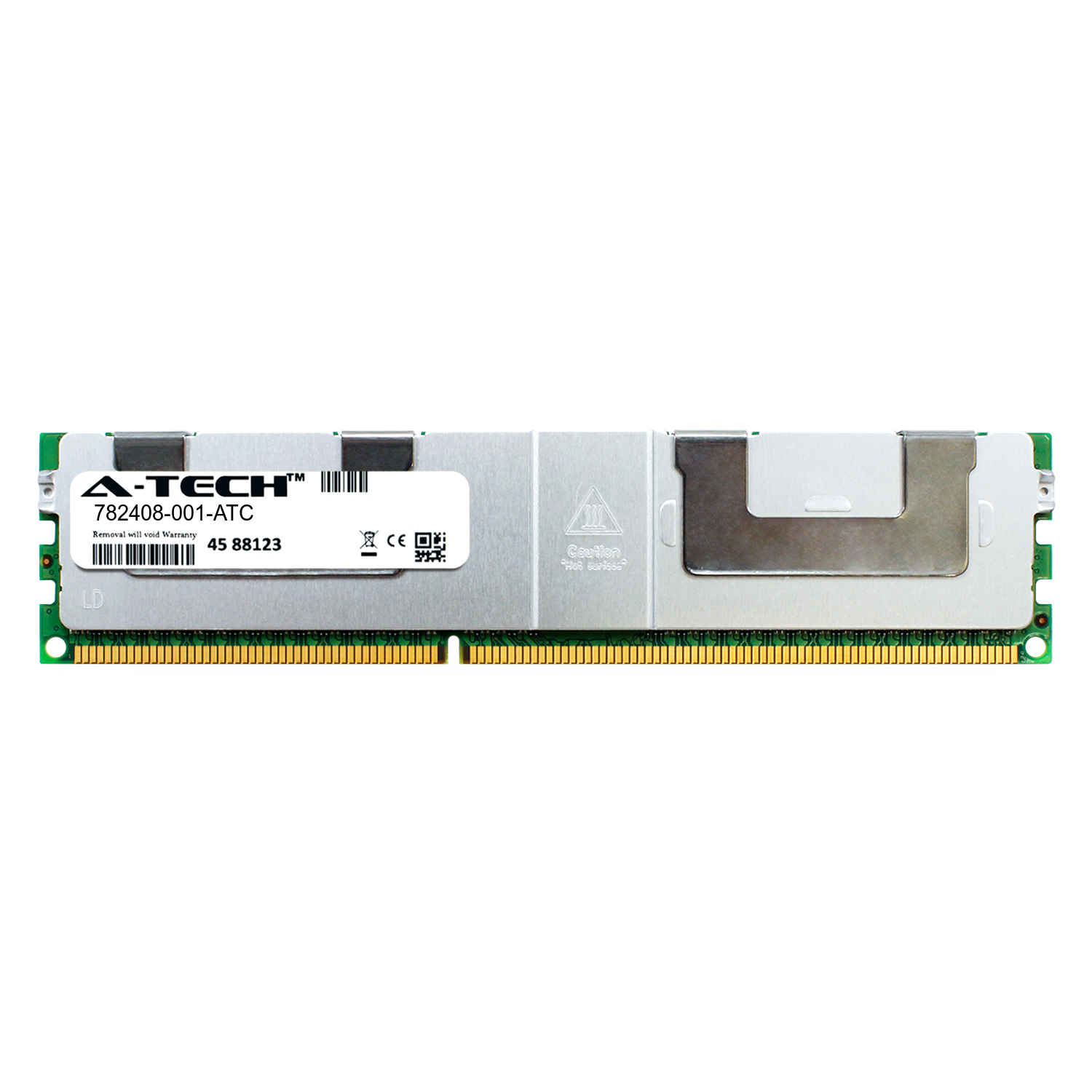 Single Server Memory Ram Stick 782408-001-ATC DDR3//DDR3L 1333MHz PC3-10600 ECC Load Reduced LRDIMM 4rx4 1.35v A-Tech 32GB Replacement for HP 782408-001