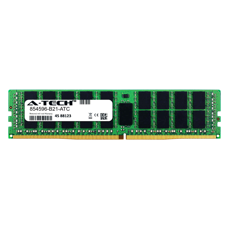 A-Tech 32GB Module for SuperMicro SuperStorage 6027R-E1R12T DDR3 ECC Load Reduced LR DIMM PC3-12800 1600Mhz 4rx4 1.35v Server Memory Ram