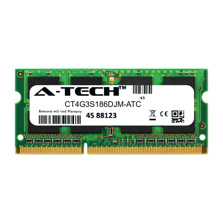 4GB DDR3 PC3-14900 1866MHz SODIMM Memory RAM Crucial CT4G3S186DJM Equivalent