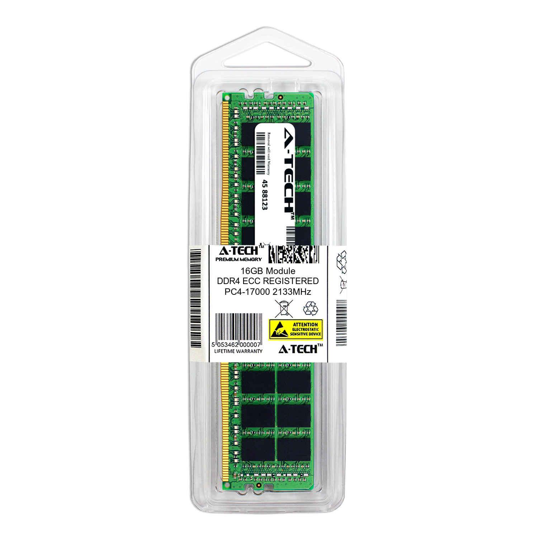 MTA36ASF2G72PZ-2G1A2IK-ATC Single Server Memory Ram Stick DDR4 2133MHz PC4-17000 ECC Registered RDIMM 2rx4 1.2v A-Tech 16GB Replacement for Micron MTA36ASF2G72PZ-2G1A2IK