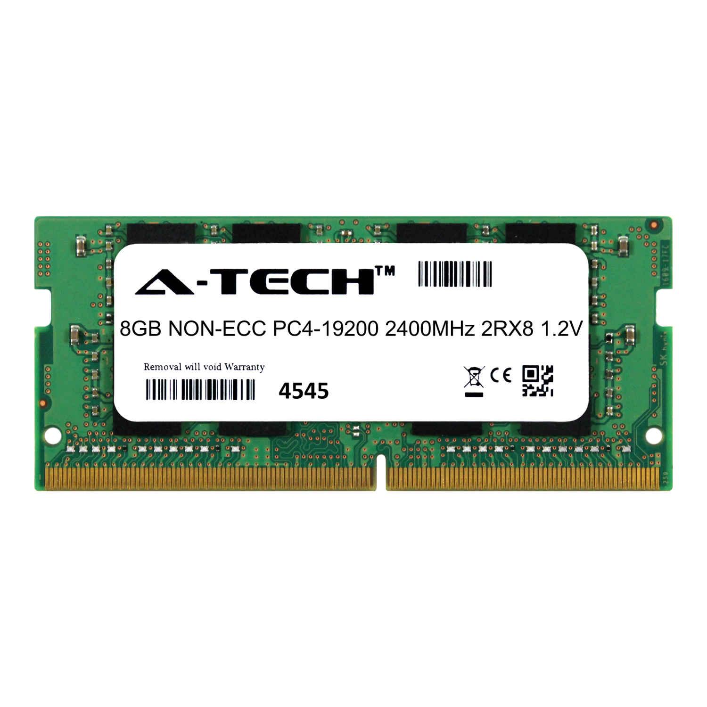 A Tech 8gb Module Ddr4 Sodimm Pc4 19200 2400mhz 1 2v 2rx8 Laptop