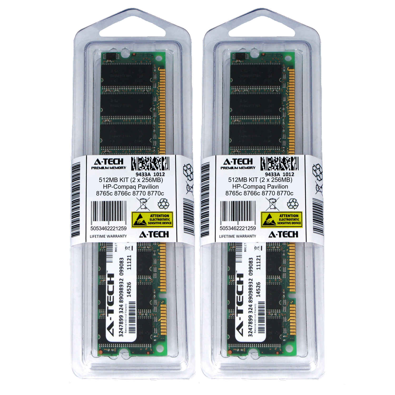 512MB KIT 2 x 256MB HP Compaq Pavilion ze4949US ze5000 ze5000KD Ram Memory