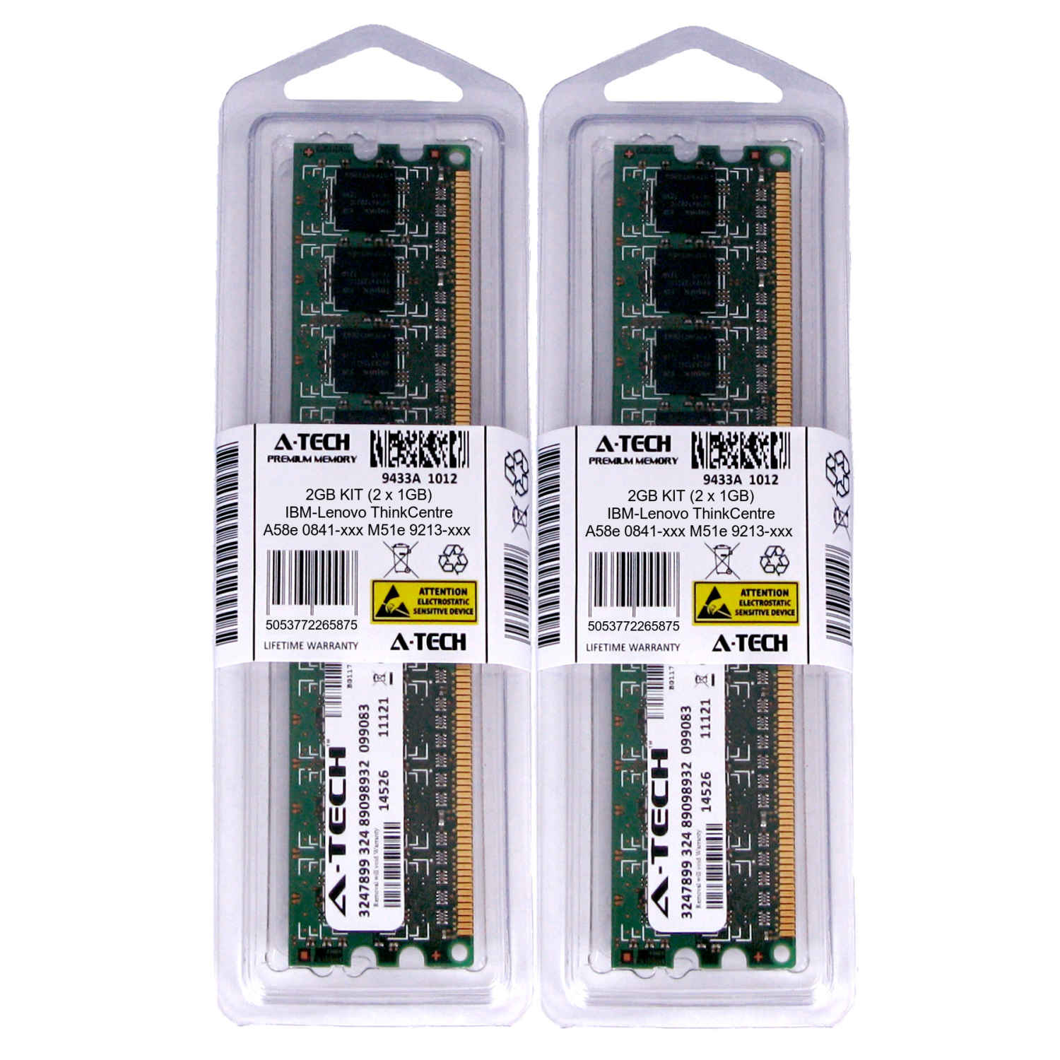 1GB DIMM IBM-Lenovo ThinkCentre M52 8113-xxx 8114-xxx 8115-xxx Ram Memory